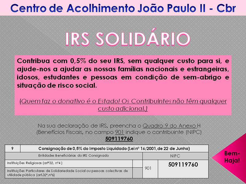 IRS Solidario